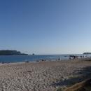 Славянский пляж - самый протяженный в Будве.