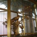 Часы «Павлин» в Павильонном зале Малого Эрмитажа.