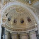 Фрагмент свода Павильонного зала Малого Эрмитажа.