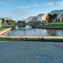 Адлерский район Сочи в ноябре. Территория Сочи Парк Отеля.