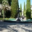 Центральный фонтан «Амуры». Дендрарий в Сочи.