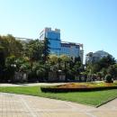 Площадь Искусств в Сочи.