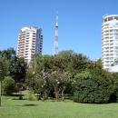 Парк у площади Искусств в Сочи.