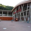 Железнодорожный вокзал «Роза Хутор». Сочи.