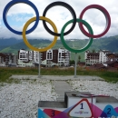 Горная Олимпийская деревня. Роза Плато. Сочи.
