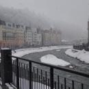 Горнолыжный курорт Сочи — «Роза Хутор» зимой.