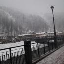 Горнолыжный курорт «Роза Хутор» в Сочи.