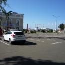 Новый морской вокзал Сочи. Вид с улицы Круизная Гавань.