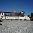 Площадь у морвокзала — начало Приморской набережной.