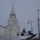 Спасская башня Казанского кремля.