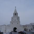 Спасская башня - главный въезд в Казанский кремль.