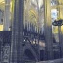 Внутреннее убранство храма Св. Евлалии, Барселона.