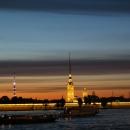 Вечерние морские прогулки на катерах и корабликах в Санкт-Петербурге.
