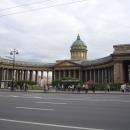 Казанский кафедральный собор на Невском проспекте Санкт-Петербурга.
