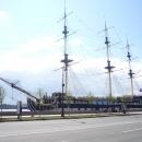Линейный корабль Виктория в Санкт-Петербурге.