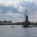 Крейсер «Аврора» в Санкт-Петербурге. Корабль-музей.