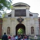 Петровские ворота Петропавловской крепости в Санкт-Петербурге.