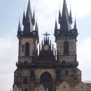 Собор Девы Марии перед Тыном на Староместской площади в Праге. Чехия.