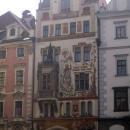 Каждый дом на Староместской площади в Праге интересен архитектурой и историей. Чехия.