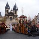 Староместская площадь в Праге украшена к Пасхе. Чехия.