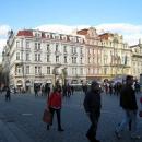 Уникальные дома на Староместской площади в Праге. Чехия.