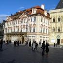 Дворец Гольц-Кинских - Национальная галерея на Староместской площади в Праге. Чехия.