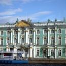 Пристань у Зимнего дворца. Санкт-Петербург.