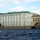 Эрмитажный театр. Эрмитажный мост. Санкт-Петербург.