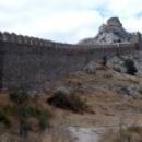 Судак Генуэзская крепость крепостные стены