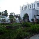 Вид на драмтеатр и фонтан. Сухум. Абхазия.