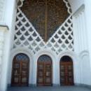 Вход арочный в драмтеатр. Сухум. Абхазия.