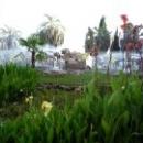 Фонтан с грифонами в г. Сухум.