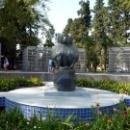 Памятник обезьяне. НИИ ЭПиТ Сухум. Абхазия.