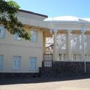 Круглая колоннада Летнего театра Сочи.