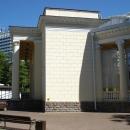 Летний театр Сочи в парке имени Фрунзе.