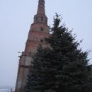 Падающая башня в Казанском кремле – Башня Сююмбике. Отклонилась от вертикали на 2 метра.