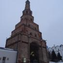 Башня Сююмбике состоит из 7 ярусов и уходит в небо на высоту 58 метров.