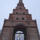 Башня Сююмбике на территории Казанского кремля.