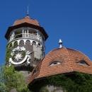 Здание военного санатория и водонапорная башня - архитектурный символ Светлогорска.