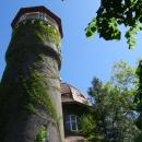 Высота водонапорной башни в Светлогорске 25 метров.