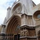 Кафедральный собор Таррагоны вид с Соборной Площади
