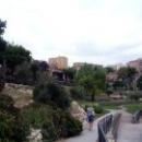 Парк перед римским амфитеатром в Таррагоне
