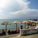 Поселок Новомихайловский Туапсинского района: пляж, набережная.