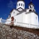 Церковь Св. Николая Чудотворца на горе в Новомихайловке.