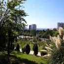 Вид с Верхнего парка Дендрария на город Сочи.
