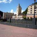 Ратуша с часами на Роза Хутор (Роза Долина).
