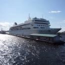 Круизный лайнер в Санкт-Петербурге Fred Olsen Cruise Lines.