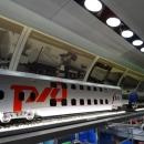 Макет двухэтажного вагона в поезде-музее «РЖД».