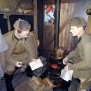 Поезд-музей «РЖД». Вагон посвященный Великой Отечественной войне.
