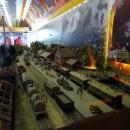 ПВЛК «РЖД». Экспозиция вагона посвящена Великой Отечественной войне.